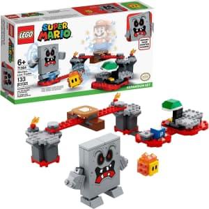 LEGO Super Mario Whomp's Lava Trouble Expansion Set for $15