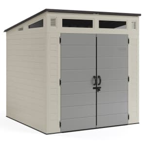 Suncast Modernist 7x7-Foot Resin Storage Shed for $849 for members
