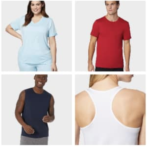 T-Shirts and Tanks at 32 Degrees: 6 for $30