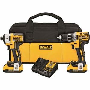 DeWalt 20V Drill & Impact Driver Kit for $219