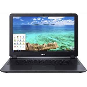 Acer Chromebook 15.6-inch Laptop (Intel Dual-Core 2.41GHz Processor, 2GB RAM, 16GB SSD, Google for $259