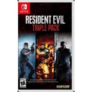 Resident Evil Triple Pack for Nintendo Switch for $30