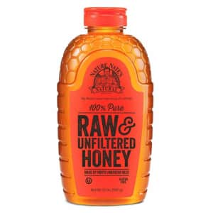 Nature Nate's 100% Pure Raw & Unfiltered Honey for $9