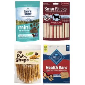 Dog Treats at Chewy: Buy 1, get 50% off 2nd