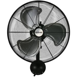 """Hurricane Pro Series 20"""" Wall Mount Fan for $140"""