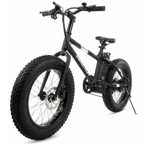 """Swagtron EB6 7-Speed 20"""" Fat Tire All-Terrain Electric Bike for $598 in cart"""