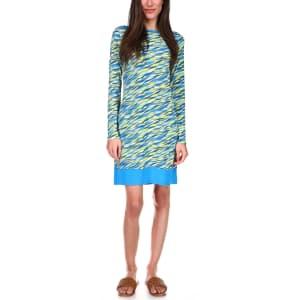 Michael Kors Women's Printed Banded-Hem Dress for $25