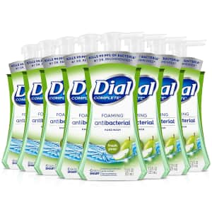 Dial Complete Antibacterial Foaming Hand Wash 8-Pack for $15