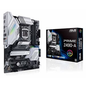 ASUS Prime Z490-A LGA 1200 (Intel 10th Gen) ATX Motherboard (14 DrMOS Power Stages,Dual M.2, Intel for $359