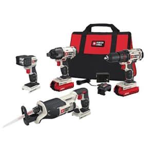 Porter-Cable PCCK615L4 20V 4-tool combo kit for $221