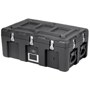 """Monoprice Pure Outdoor 32"""" x 18"""" x 13"""" Stackable Rotomolded Weatherproof Case for $180"""