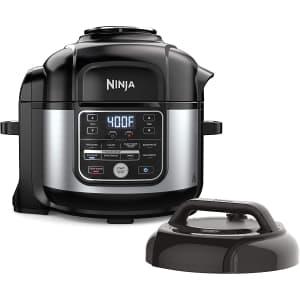 Ninja Foodi 10-in-1 Pressure Cooker and Air Fryer w/ Nesting Broil Rack for $200