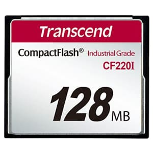 Transcend 128MB Industrial Compact FlashCard(UDMA5), WideTemperature-40C85C, SLCSamsung21nm for $30