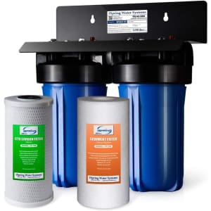 iSpring 2-Stage Whole House Water Filtration System for $152