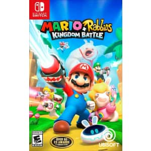 Mario + Rabbids Kingdom Battle for Nintendo Switch: $9.99