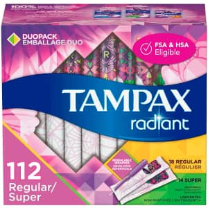 Tampax Multipacks at Amazon: $6 off + extra 5% off via Sub & Save