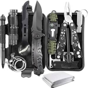 Verifygear 14-in-1 Emergency Survival Kit for $23