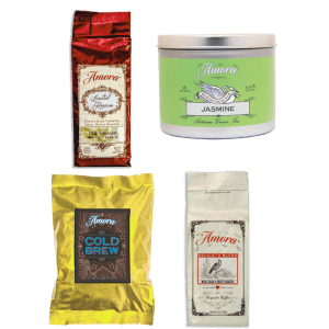 National Coffee Month Sale at Amora Coffee: 15% to 25% off