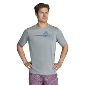 Speedo Men's Uv Swim Shirt Graphic Short Sleeve Tee for $38