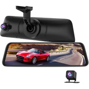 Auto-Vox Rear View Mirror Dash Cam for $310