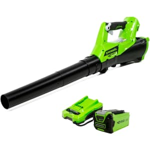 Greenworks 40V Cordless Axial Blower Kit for $119
