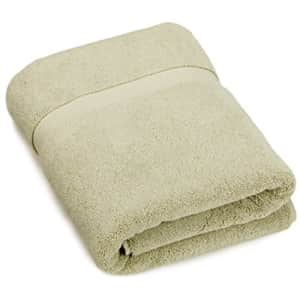 Amazon Brand Pinzon Heavyweight Luxury Cotton Bath Towel - 56 x 30 Inch, Sage for $17