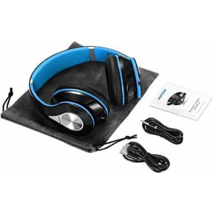 Mpow 059 Bluetooth Headphones Over Ear, Hi-fi Stereo Wireless Headset, Built-in Microphone, Soft for $55