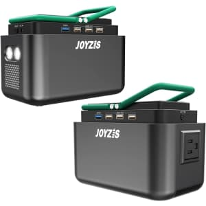 Joyzis 150Wh/40,800mAh Portable Power Station for $90