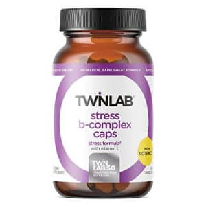 TwinLab Stress B Complex with Vitamin C 250 Caps for $31