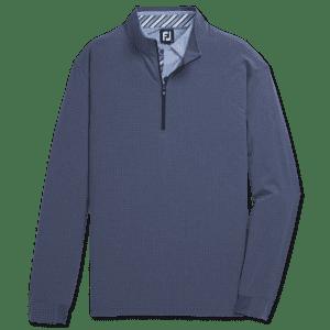 FootJoy Men's Tonal Print Woven 1/4-Zip Mid-Layer Pullover for $75