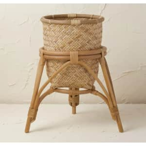 Opalhouse x Jungalow Rattan Woven Planter Basket for $25