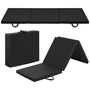 Best Choice 6x2-Ft. Tri-Fold Floor Mat for $30