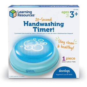 Learning Resources 20-Second Handwashing Timer for $3