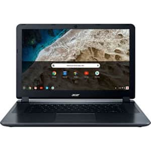 """2018 Acer 15.6"""" HD WLED Chromebook 15 with 3X Faster WiFi Laptop Computer, Intel Celeron Core N3060 for $278"""