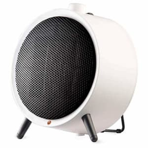 Honeywell HCE200W UberHeat Ceramic Heater White Energy Efficient Space Saving Portable Heater with for $39