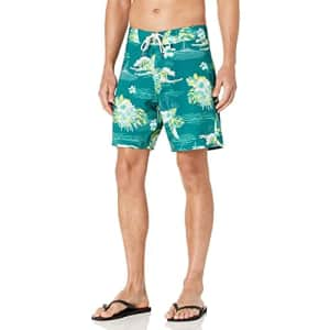 Oakley Men's Standard Tropical Bloom 18 Boardshort, Bayberry Hawai, 40 for $55
