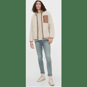 Gap Men's Reversible Fleece Jacket for $27