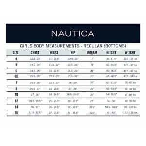 Nautica Plus Girls' Uniform 5-Pocket Short, Navy, 8 for $15