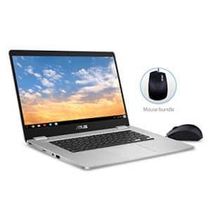 "ASUS Chromebook C523 Laptop- 15.6"" Full HD NanoEdge Touchscreen, Intel Quad Core Pentium N4200 for $491"