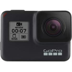 GoPro Hero7 Black Action Camera for $204