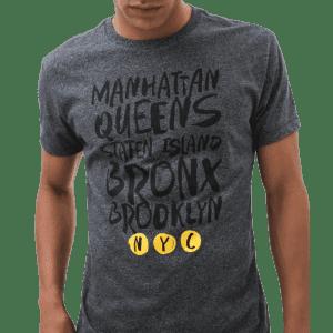 Aeropostale Men's Five Boroughs Graphic T-Shirt for $7