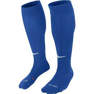 Nike Classic II Cushion Over-the-Calf Soccer Football Socks (XS, Royal blue) for $25