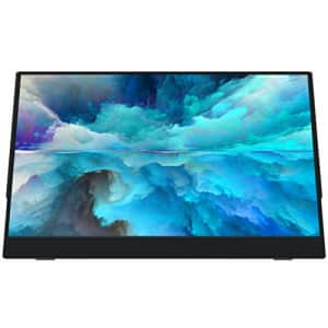 VIOTEK LinQ 16 Inch Portable Monitor Full HD 1080P Thin IPS Panel w/Built in Speakers, (2X) USB for $394