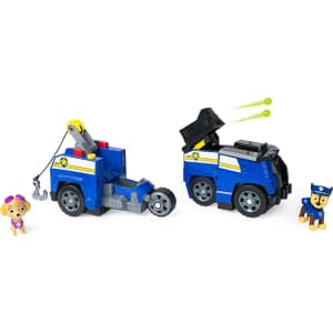Paw Patrol Chase Split-Second 2-in-1 Police Cruiser Vehicle for $18