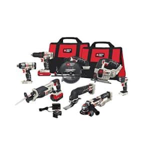 Porter-Cable PCCK619L8 20V MAX li-ion 8 tool kit for $477