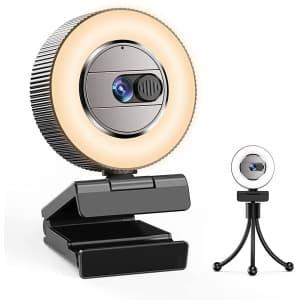 Casecube 2K UHD Webcam for $25