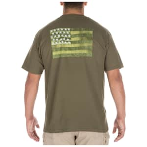 5.11 Tactical Men's MOLLE America T-Shirt for $7