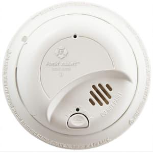 First Alert Hardwired Smoke Alarm for $12