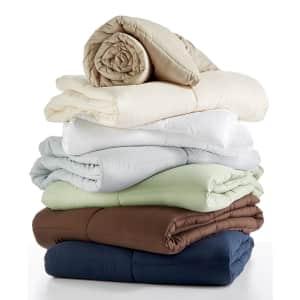 Blue Ridge Royal Luxe Lightweight Down Alternative Comforter for $20
