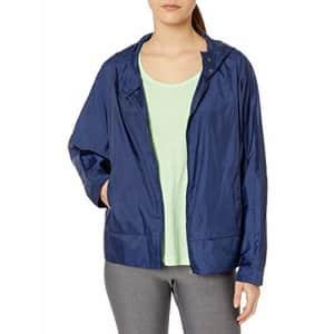 SHAPE activewear Women's Breeze Cap Breaker, MEDEIVAL Blue, M for $44
